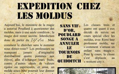 La gazette du sorcier: Poudlard, mercredi 17 octobre