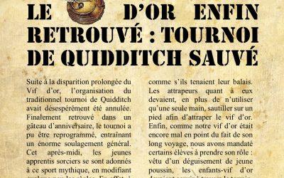 La gazette du sorcier: Vendredi 19 octobre 18